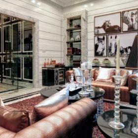 131平優雅歐式復式家居裝修效果圖