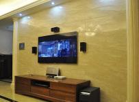 歐式三居客廳電視背景墻圖片