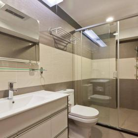 簡潔時尚三居衛生間裝修圖片