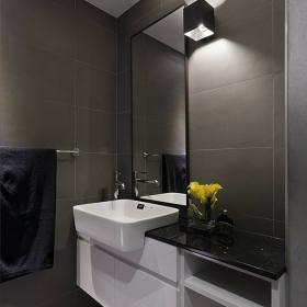 現代中式風四居室衛生間設計