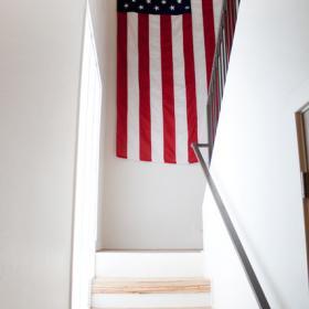 新時代簡約復式家居樓梯圖片