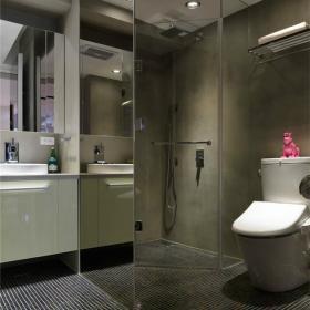 浴室馬賽克瓷磚獨具時尚感