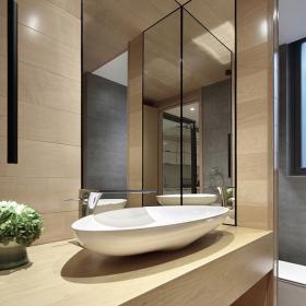 200平米復式洗手臺設計效果圖