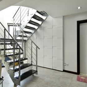 簡約小復式婚房室內樓梯圖片