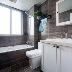 135平三室兩廳北歐簡美風裝修——衛生間