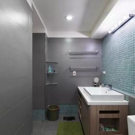 83㎡超唯美簡約混搭衛生間墻磚搭配效果圖