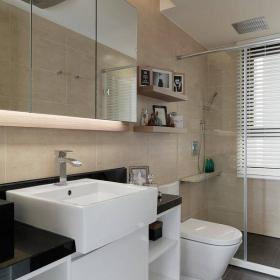 125平歐式三居衛生間空間設計效果圖