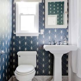 衛浴間是除餐廳外另一個個性十足的空間
