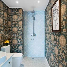 明亮欧式三室卫生间设计