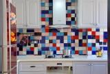 107平混搭三居之厨房整体布置效果图