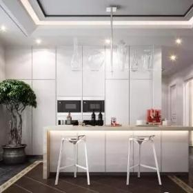 560平新中式別墅裝修—廚房