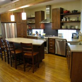 美式復式家居廚房圖片大全