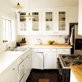 74平米簡約風格兩居室廚房裝修效果圖