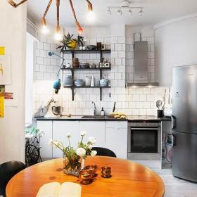 簡潔公寓廚房設計
