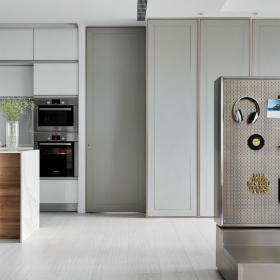 舒怡兩居室設計廚房效果圖