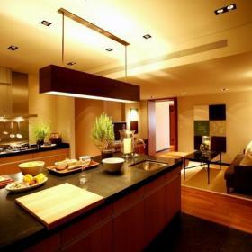 三居室開放式廚房圖片