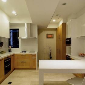 优雅现代三居厨房设计图鉴赏