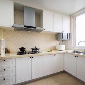 135平三室兩廳北歐簡美風裝修——廚房