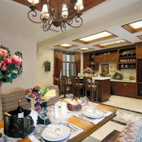 泰禾&;北京院子开放式厨房设计