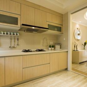 125平复式现代简美风格装修—厨房
