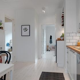 開放式的廚房設計