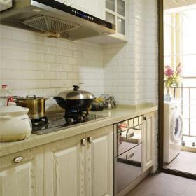 美式三居廚房圖片欣賞