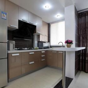86平現代兩居室廚房設計
