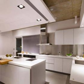 簡約自然兩居室設計效果圖之開放式廚房