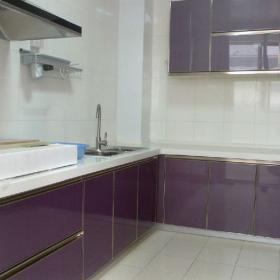 簡約現代兩居室廚房裝修設計