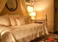 90平米時尚歐式風格兩居室臥室裝修效果圖