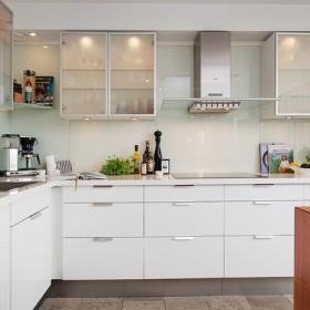 100平米混搭復式房之廚房裝修圖片欣賞