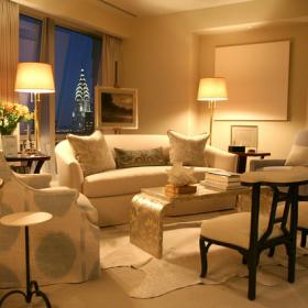 90平米時尚歐式風格兩居室客廳沙發圖片