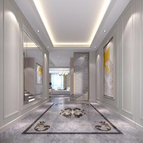 580平簡歐風格別墅大宅——玄關