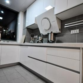 118㎡現代新中式3居之廚房櫥柜設計效果欣賞