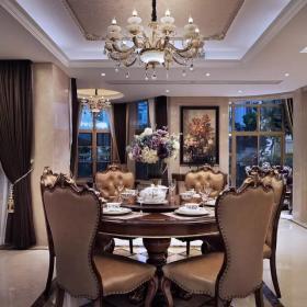 700平豪華歐式別墅——餐廳