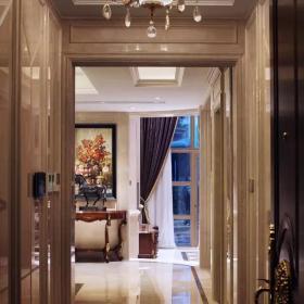 700平豪華歐式別墅——走廊