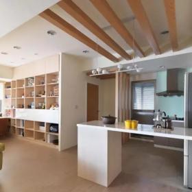 83㎡超唯美簡約混搭廚房開放式設計