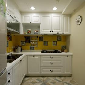120平混搭三居之廚房布置效果圖