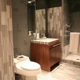 90平米時尚歐式風格兩居室衛生間馬桶圖片
