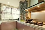 厨房采用了马赛克瓷砖不会那么单调