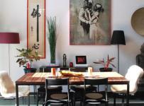 简约跃层家居餐厅装饰设计图片