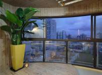 97平新中式二居之阳台布置效果图
