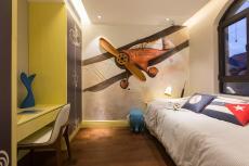268平都市轻奢别墅之儿童房装修设计效果展示
