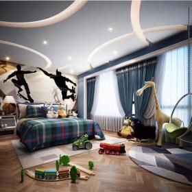 560平新中式別墅裝修—兒童房