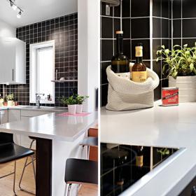 廚房和餐廳是在一起的 不奢華,不高貴,但很經典