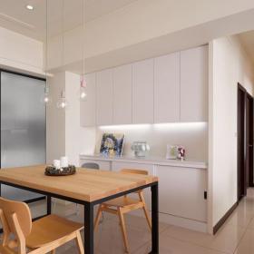 現代風女子單身住宅餐廳設計