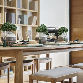 200平米復式餐廳裝飾效果圖