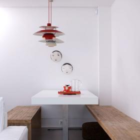 餐廳-時尚的設計感 墻飾使得餐廳的氛圍變的幽默詼諧