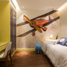 268平都市輕奢別墅之兒童房裝修設計效果展示