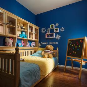 78平方現代簡約兩居兒童房裝飾效果圖